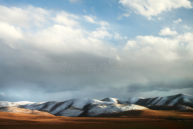ландшафт Тибет стоковое фото rf