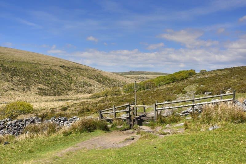 Ландшафт южной западной Англии стоковая фотография rf