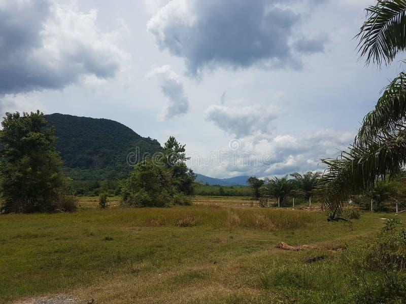 Ландшафт южный Таиланд стоковые изображения rf