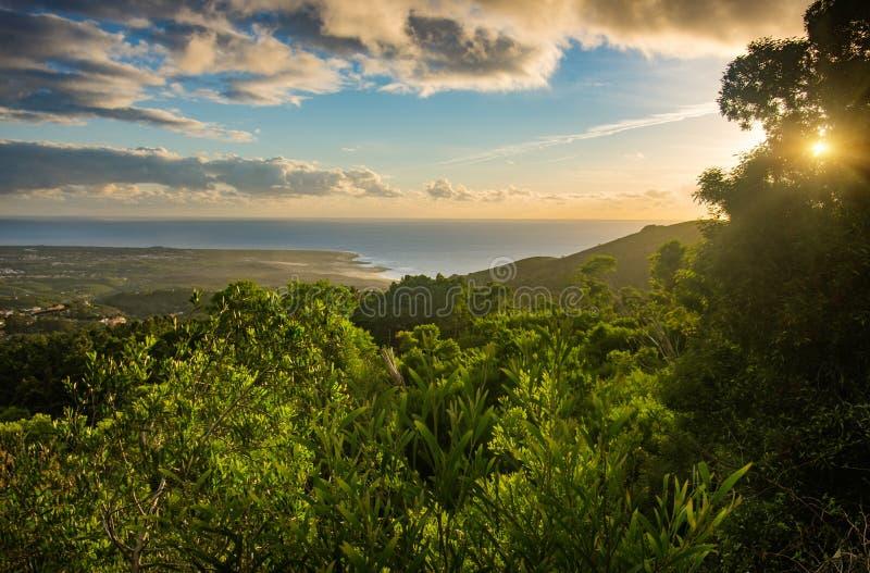 Ландшафт Cascais стоковая фотография rf