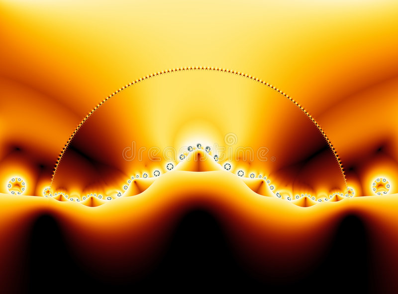 ландшафт fractal35j мнимый иллюстрация штока