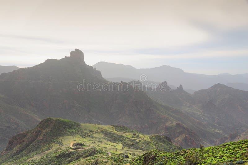 ландшафт gran canaria стоковые фотографии rf