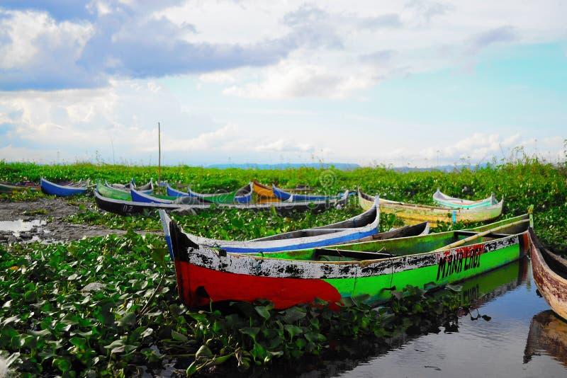 Ландшафт hulondalo limutu bulalo в Индонезии стоковое изображение rf