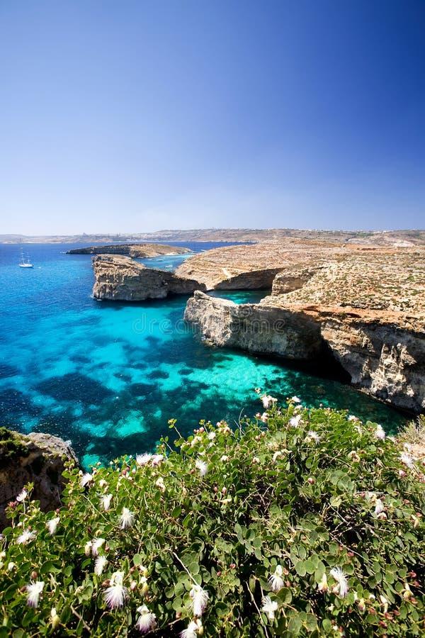 ландшафт malta стоковое фото