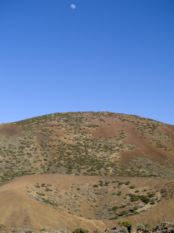 ландшафт martian стоковое изображение rf