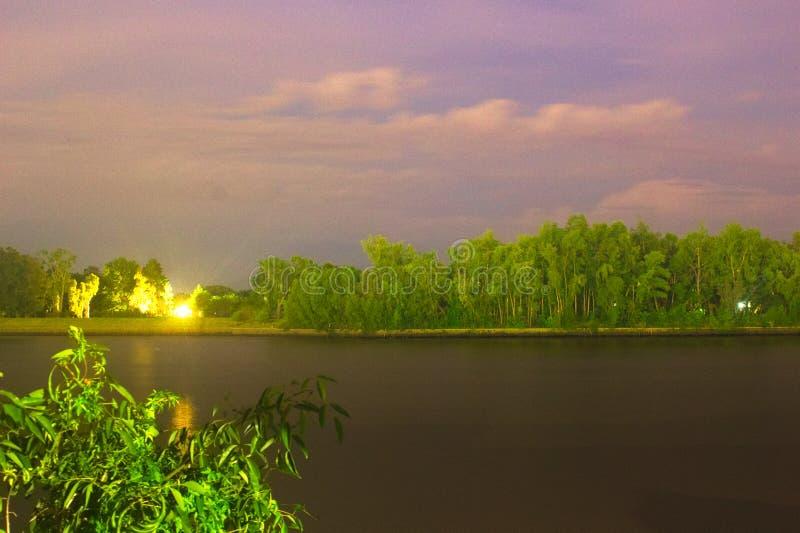 Ландшафт Nighty на парке San Fernando nautic стоковая фотография rf