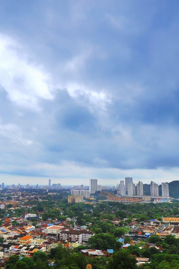 Ландшафт Penang стоковые фотографии rf