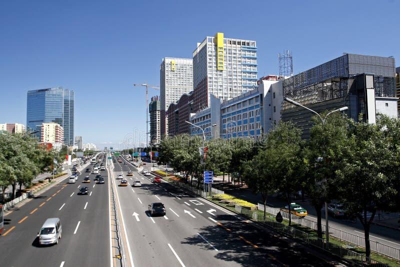 ландшафт s Пекин урбанский стоковое изображение rf