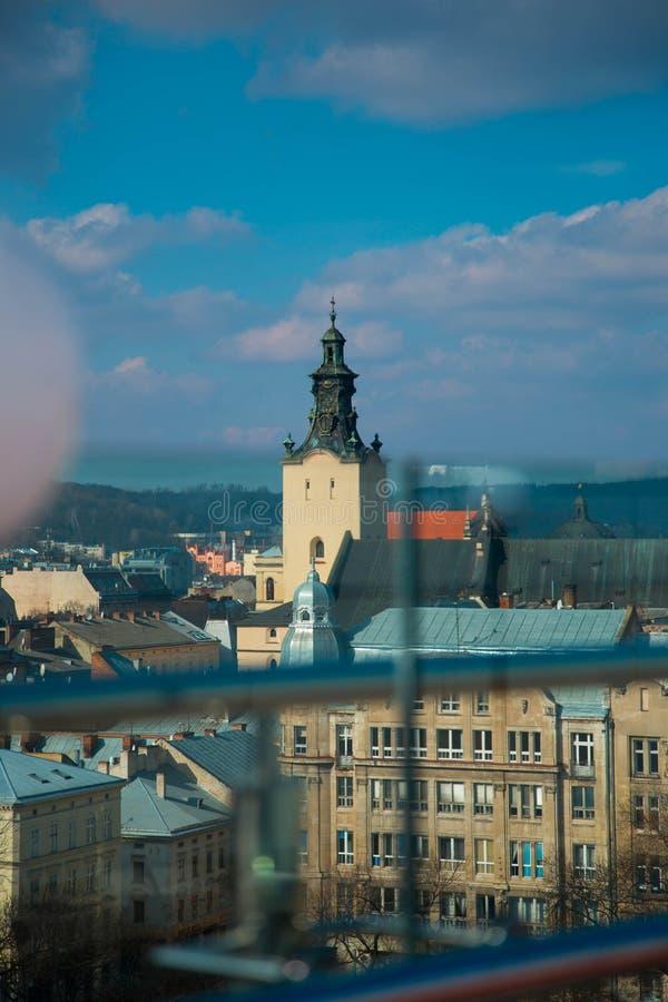 Ландшафты города стоковые изображения rf