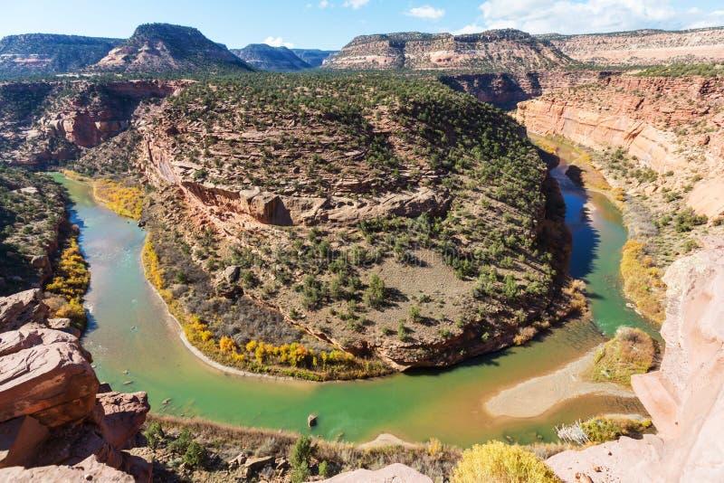 Ландшафты Колорадо стоковое фото rf