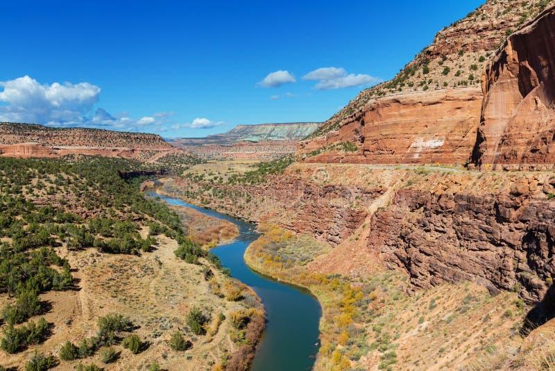 Ландшафты Колорадо стоковое изображение