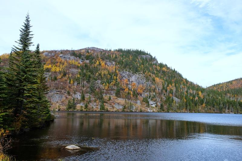 Ландшафты падения, Канада стоковое изображение