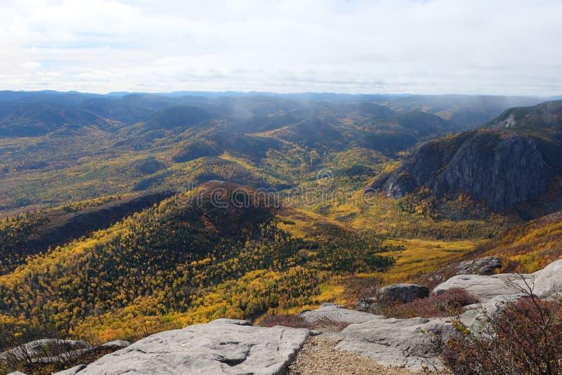 Ландшафты падения, Канада стоковое фото