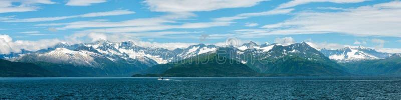Ландшафт Аляски Prince William Sound стоковое фото