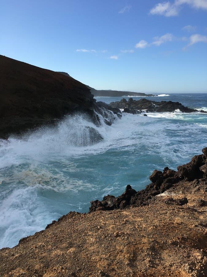Ландшафт 5 береговой линии стоковые фото