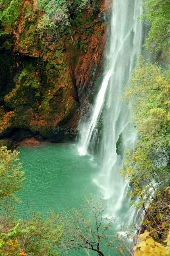 Ландшафт водопада стоковое фото rf