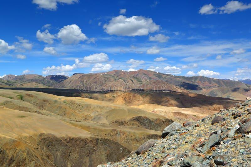 Ландшафт в горах Altai стоковые изображения