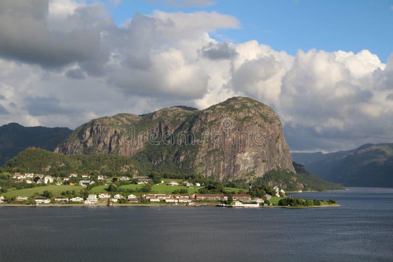 Ландшафт в южной Норвегии стоковые фотографии rf