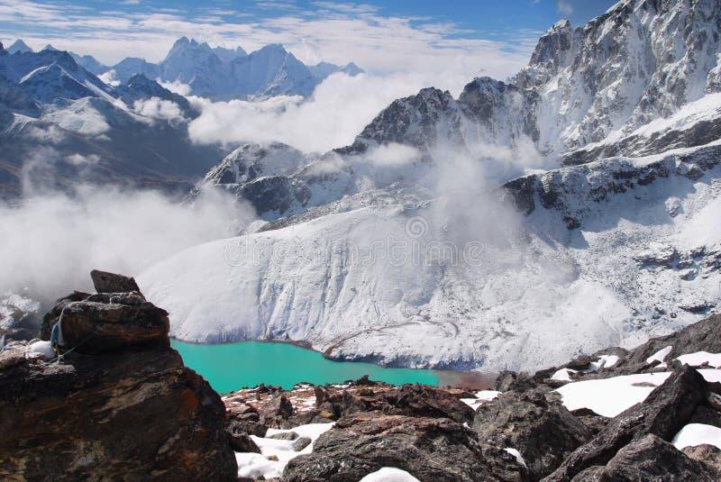 Ландшафт Гималаи гор стоковые изображения rf