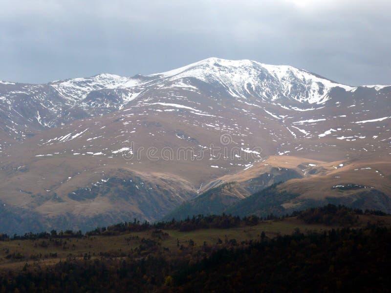 Ландшафт гористой местности стоковые фотографии rf