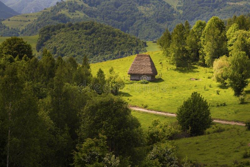 Ландшафт горы, красота природы стоковое изображение rf