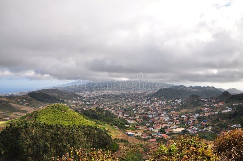 Ландшафт горы Тенерифе стоковая фотография