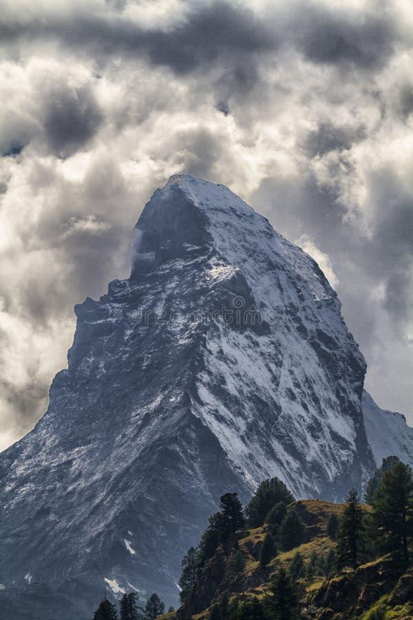 Ландшафт горы Cervin стоковая фотография