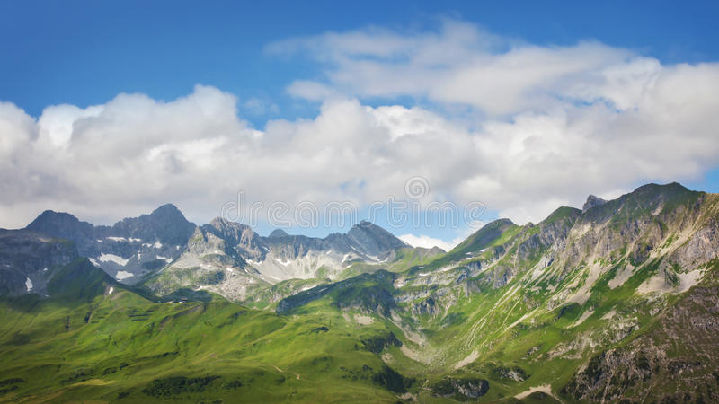 Ландшафт гор стоковое фото
