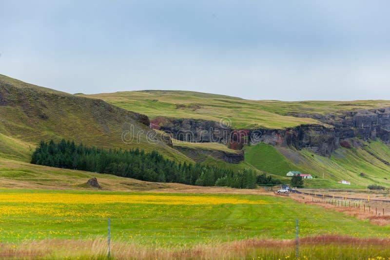 Ландшафт Исландия стоковая фотография rf