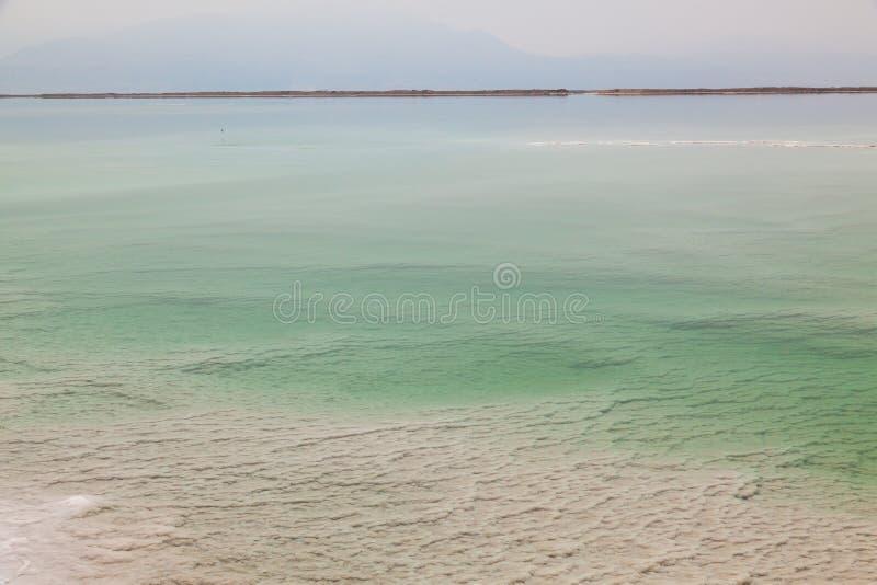 Ландшафт мертвого моря стоковое изображение
