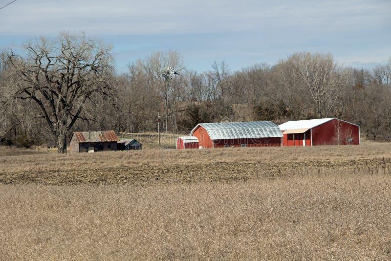 Ландшафт места фермы стоковые фото