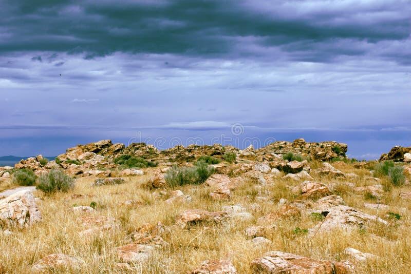 Ландшафт над Большим озером стоковые изображения