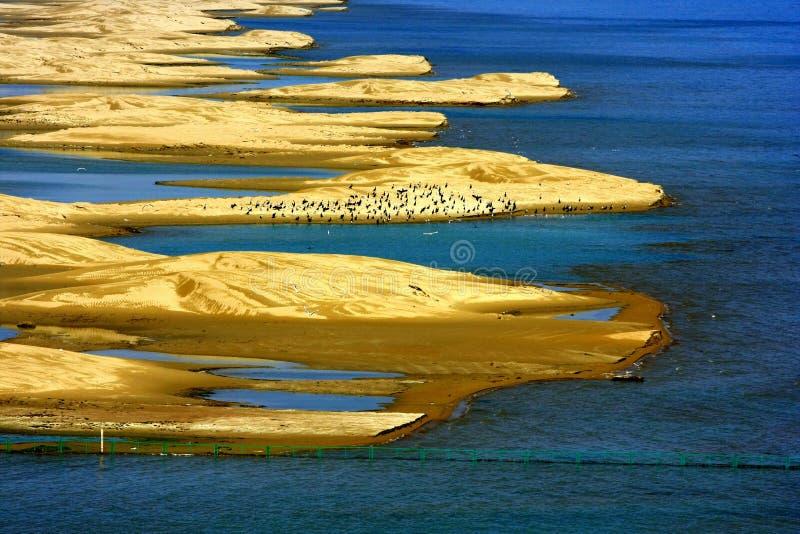 Ландшафт озера Цинха стоковое фото rf