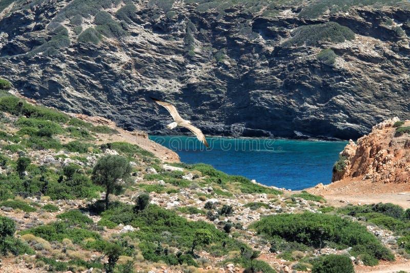Ландшафт острова Крита, Греция стоковые фото
