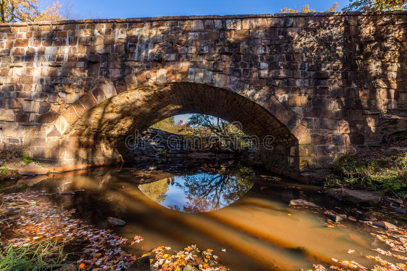 Ландшафт падения Арканзаса, Петит парк штата Джина стоковая фотография rf
