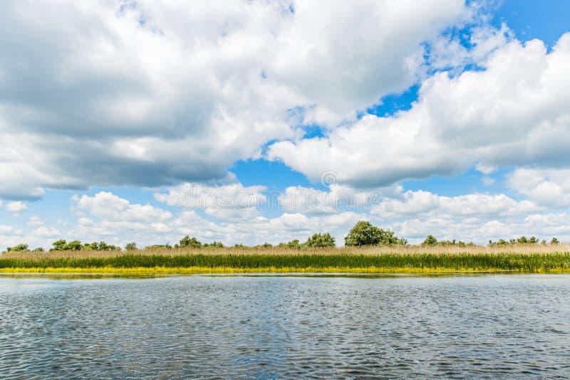 Ландшафт перепада Дуная стоковые изображения