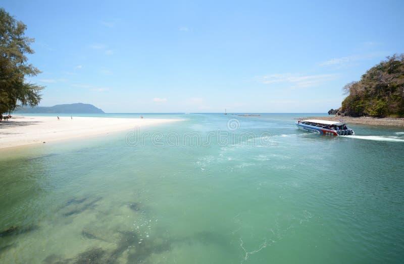 Ландшафт пляжа Tarutao стоковое фото rf