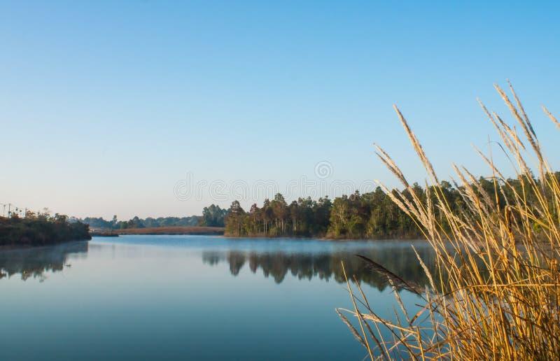Ландшафт резервуара стоковая фотография