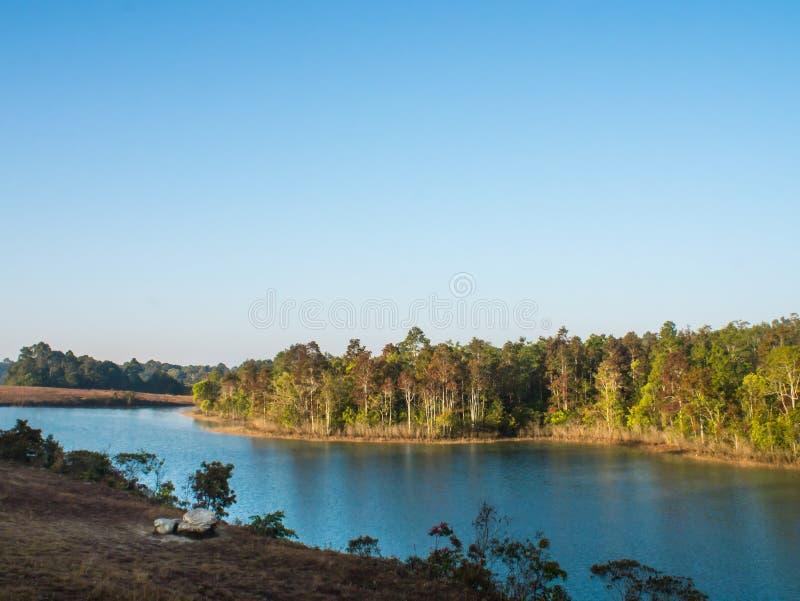Ландшафт резервуара стоковое фото