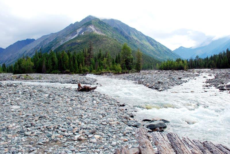 Ландшафт, Россия, Lake Baikal, trekking, перемещение, горы, воссоздание, лес, shumack, зеленый цвет, озеро, река стоковые изображения rf