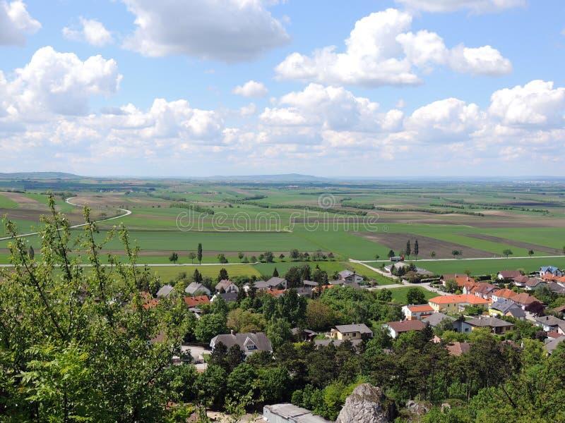 Ландшафт руин Staatz стоковое изображение