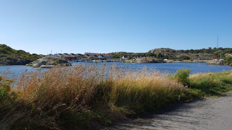 Ландшафт Северного моря стоковое изображение rf