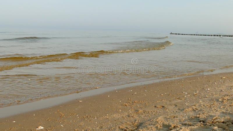 Ландшафт спокойного Балтийского моря стоковое изображение