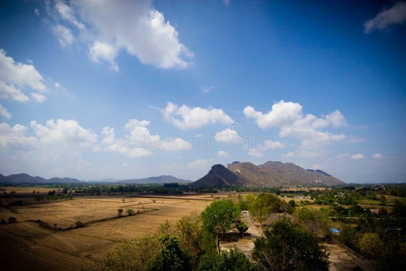 Ландшафт стороны страны - Таиланд стоковые изображения rf