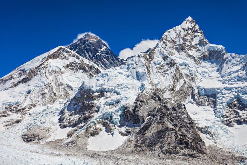 Ландшафт Эвереста, Гималаи стоковые изображения