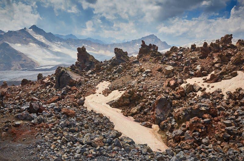 Ландшафт Elbrus стоковые фото