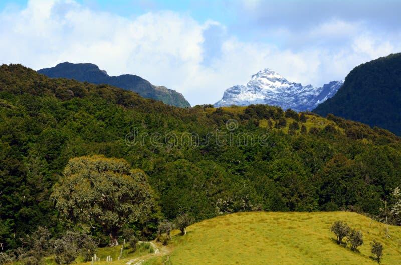 Download Ландшафт Glenorchy Новой Зеландии NZ NZL Стоковое Изображение - изображение насчитывающей крышка, sightseeing: 37927047