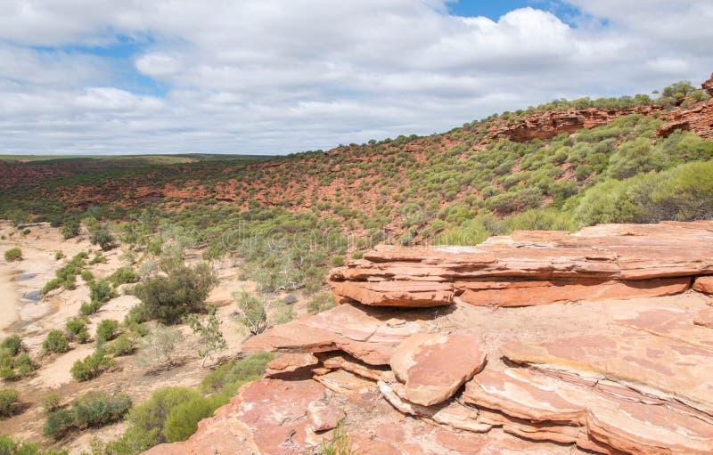 Ландшафт Kalbarri: Западная Австралия стоковое фото rf