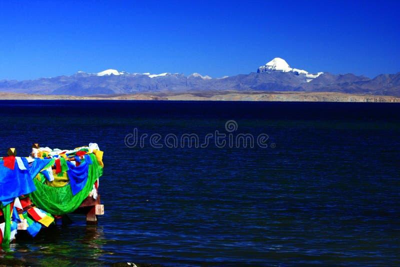 Ландшафт Mount Kailash стоковое изображение