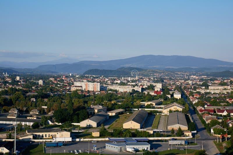 Ландшафт Mukachevo Oblast Zakarpatska стоковое фото